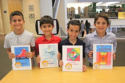 Third Grade Students' Writing on Display at Junior Author Celebration