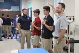 Upper School Partners with NSU for National Biomechanics Day Activities
