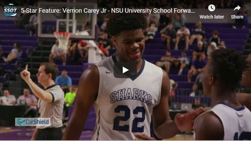 5-Star Feature: Vernon Carey Jr - NSU University School Forward - Sports Stars of Tomorrow