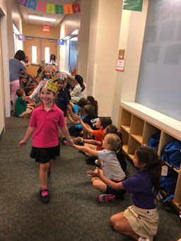First Grade recognizes star students for character