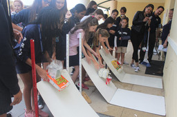 Middle School Students Participate in First Innovation Day of the Year