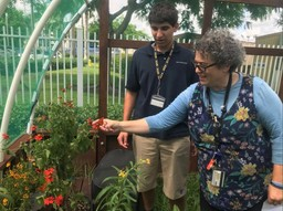 NSU University School unveils new butterfly garden and vivarium