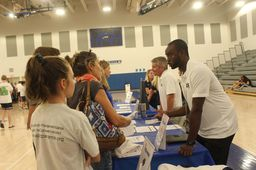 Students and parents explore opportunities at An Evening With Arts & Athletics Event