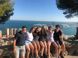 Upper School Students Spend Summer in Malaga, Spain