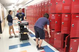 WIND Club Members Collect Unused School Supplies for Children in Need