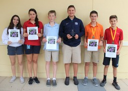 Middle School Students Recognized for their involvement in The Fairchild Challenge