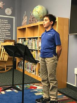 Lower School Students Present Final Project for Junior Debate