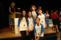 Fifth Grade Students Place 2nd in BCCTM Competition