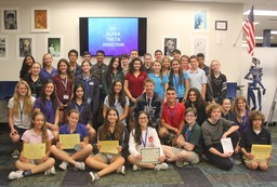 Fifty Upper School Students Inducted Into Mu Alpha Theta